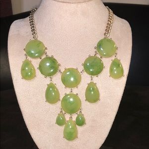 Beautiful Green Bauble Necklace from Loft